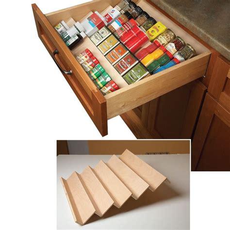Kitchen Drawer Spice Rack Organizer by 17 Best Ideas About Spice Drawer Organizer On