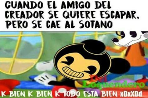 Bendy And The Ink Machine Memes - memes de bendy and the ink machine bendy and the ink machine amino
