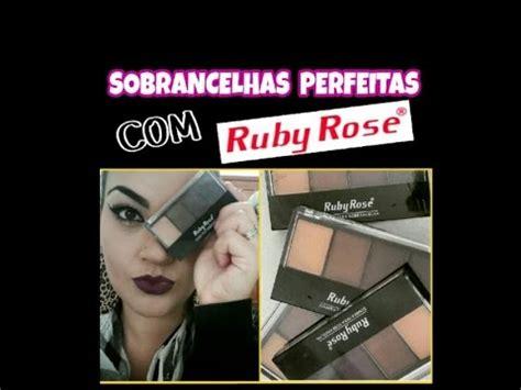 ruby rose youtube channel sobrancelhas perfeitas ruby rose youtube