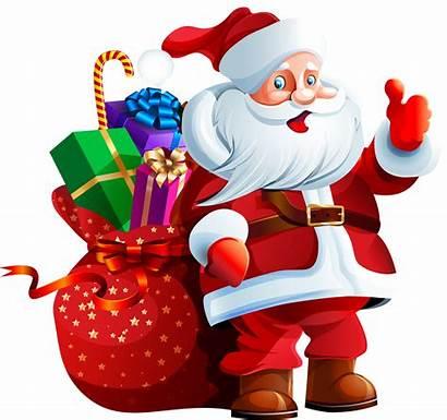Clipart Holiday Christmas Santa Cliparts Clip Bank