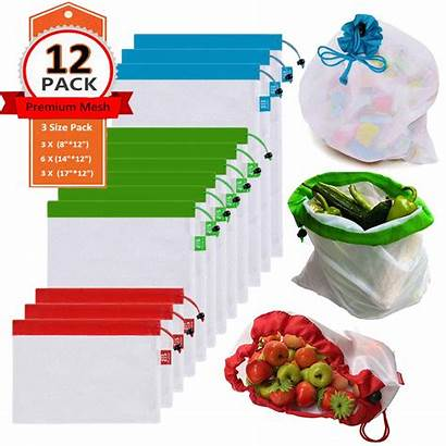 Reusable Produce Bags Mesh Bag Bb Premium
