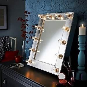Schminktisch Spiegel Beleuchtet : der broadway silber kunstleder effekt hollywood beleuchtet led dimmbar make up spiegel licht ~ Yasmunasinghe.com Haus und Dekorationen