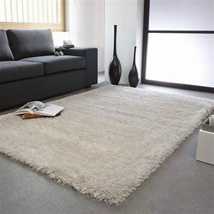 tapis shaggy pour une atmosphere douce et confortable With tapis shaggy avec made in design canapé