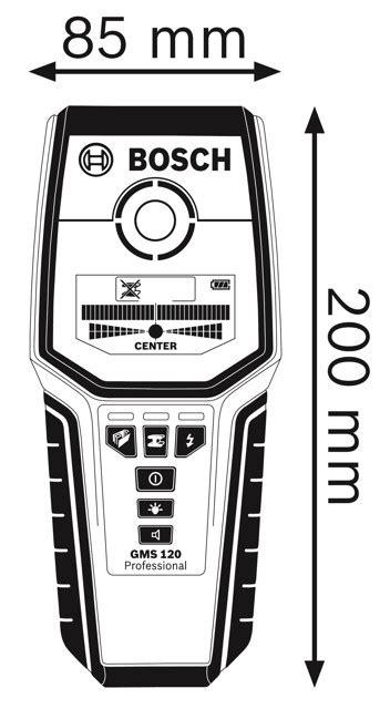 gms 120 professional bosch gms 120 professional univerz 225 ln 237 detektor rucni naradi cz