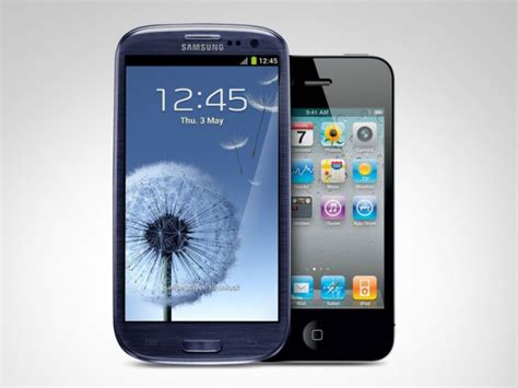 galaxy vs iphone samsung galaxy s iii vs iphone 4s who is the winner