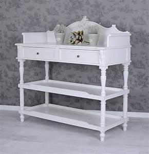 Vintage Regal Weiß : vintage anrichte k chenregal weiss k chenschrank sideboard ~ Watch28wear.com Haus und Dekorationen