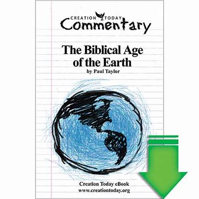 Creation Today Earth Age Biblical Commentary Ebook