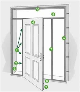 portes d39entree batiman experts en menuiseries et cuisines With fixation porte d entrée