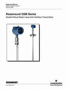 Rosemount 3300 Series Guided Wave Radar Level And