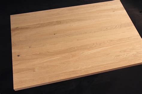 Arbeitsplatte / Küchenarbeitsplatte Massivholz Eiche Natur