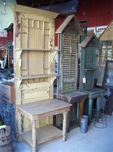 Repurposed Old Doors and Shutters