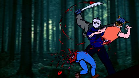 Background Jason by Jason Voorhees Hd Wallpapers Free