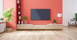 Create, A, Stylish, Tv, Wall, With, These, Decor, Tips, U2013, Berger, Blog