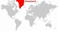 Maps of Greenland - The World's Largest Island