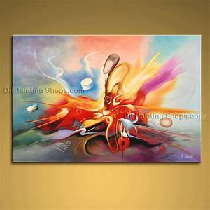 100 shop abstract paintings prints canvas modern artwork for What kind of paint to use on kitchen cabinets for ready to hang canvas wall art