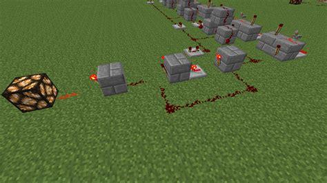Minecraft How Create Redstone Circuit Whose