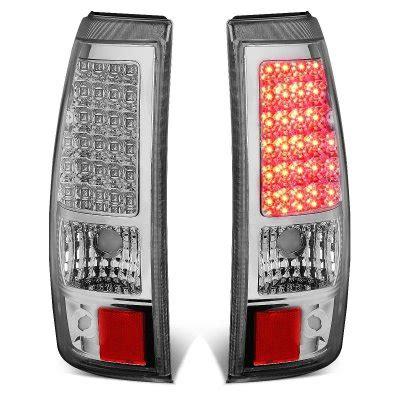2005 silverado tail lights 2005 chevy silverado 2500hd chrome led tail lights