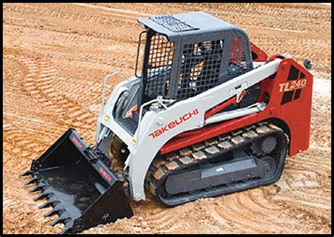 takeuchi tl skid steer attachments specifications