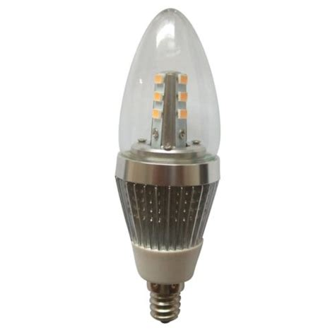 5w e12 6 pack led candle bulbs for chandeliers
