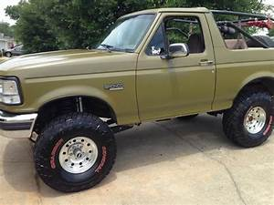94 Ford Bronco  Od Green