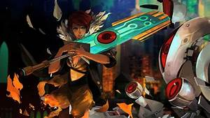 Transistor Review SuperGiant Makes Its Stunning PS4 Debut