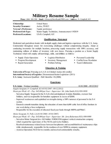Army Reserve Resume Sle by Sle Resume Sle Army Resume 28 Images Resume Army Sales Lewesmr Historian Resume Sales