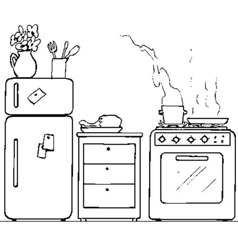 coloriage cuisine coloriage cuisiniere picture to pin on pinsdaddy