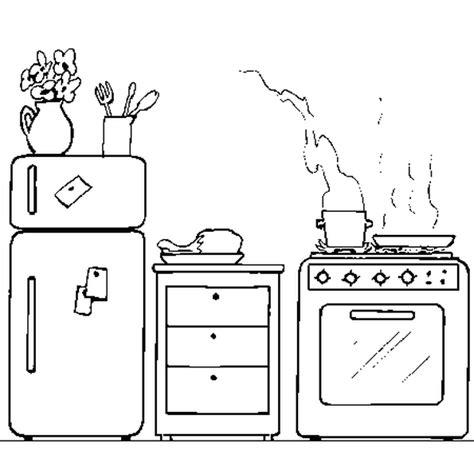 dessin evier cuisine coloriage la cuisine en ligne gratuit à imprimer
