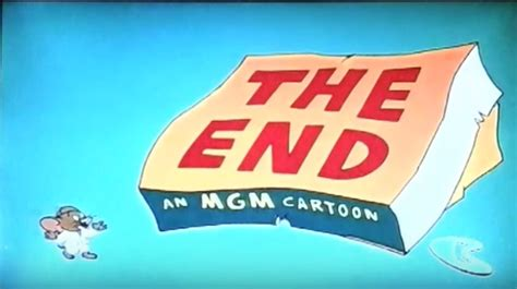 The End An Mgm Cartoon (the Tom And Jerry Cartoon