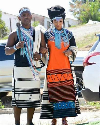 Traditional Dresses Attire Xhosa Isixhosa Bride Latest