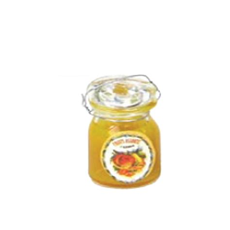 petit pot de confiture de marmelade