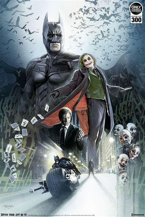 Dc Comics Batman The Dark Knight Art Print By Brian Rood