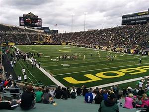 Autzen Stadium Seating Chart Autzen Stadium Section 24 Rateyourseats Com