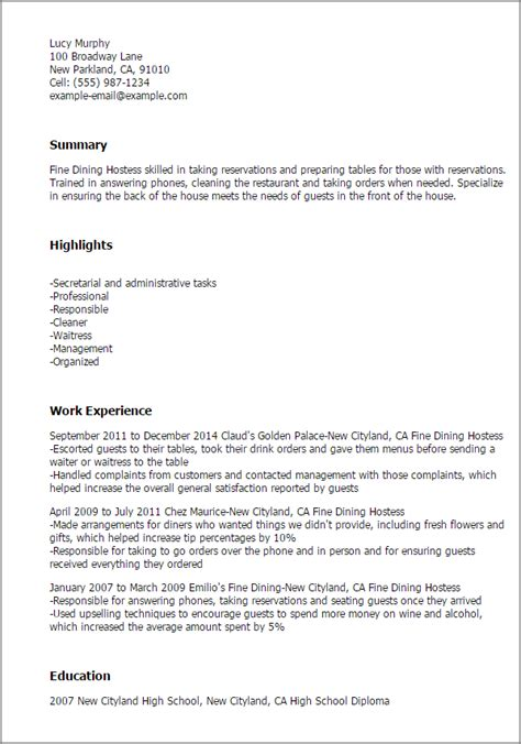 Professional Fine Dining Hostess Templates To Showcase. Printable Fax Cover Sheet Confidential Template. Report Template. Resume For Students Still In College Template. Word Letterhead Template Free Template. Sample Letter Of Job Offer Template. Resume Format Best. Sample Apology Letter To Judge. Resume Templates Word 2007 Template