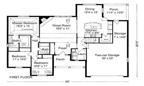 exle of house plan blueprint sle house plans