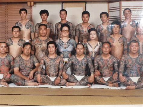picture   day yakuza family portrait twistedsifter