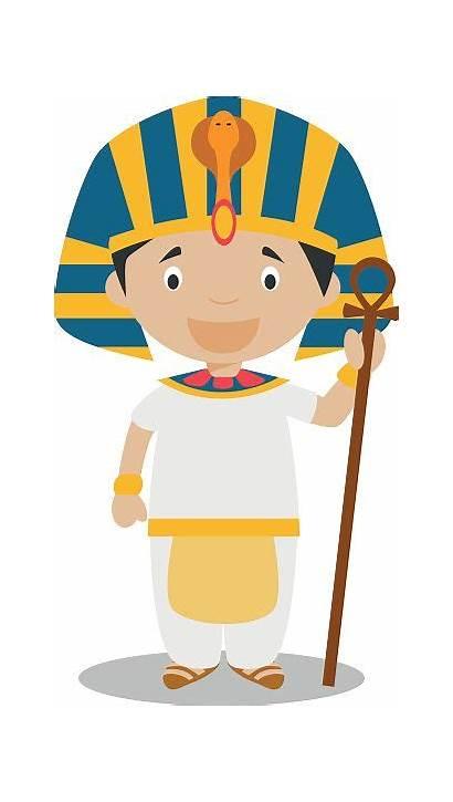 Egyptian Boy Egypt Pharaon Ancient Dessin Couleur
