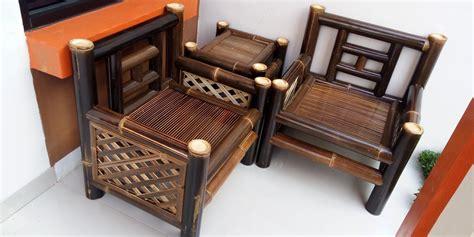 uniknya kursi santai  kursi bambu minimalis ndik home