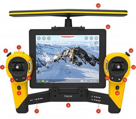 tutoriel pour piloter le bebop drone avec  skycontroller parrot news parrot news