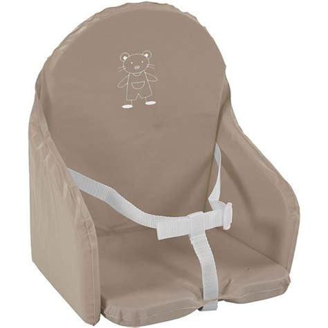 coussin chaise haute avec harnais coussin de chaise avec sangle taupe marron achat vente chaise haute 3159059048918 cdiscount