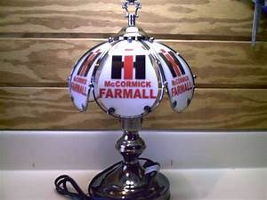 I H  Farmall Touch Lamp 14 U0026quot  X 8 U0026quot  New On Etsy   35 00