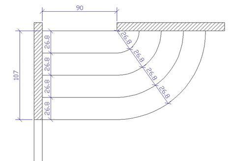 dessiner un escalier balance aide pour calculer et dessiner un escalier balanc 233