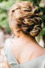 French Braid Updo Hairstyles for Weddings