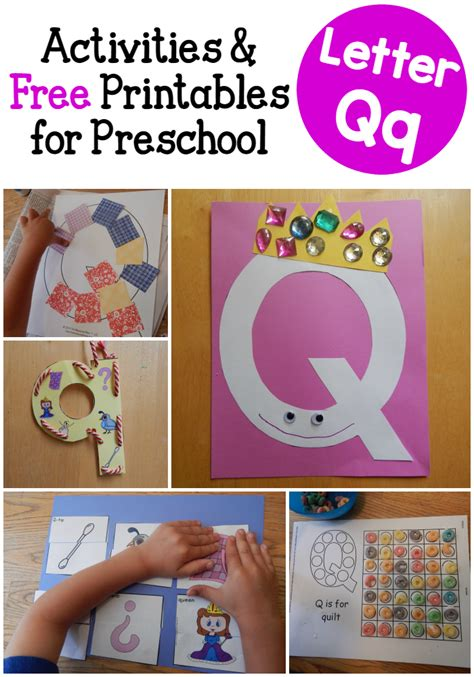 letter q activities for preschool the measured 612 | Letter Q Activities for Preschool