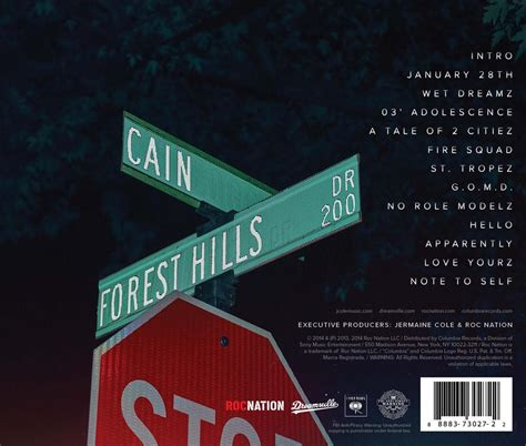 j cole forest hills drive cover j cole 2014 forest hills drive album tracklist