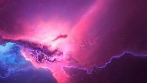 1920x1080, Pink, Red, Nebula, Space, Cosmos, 4k, Laptop, Full, Hd
