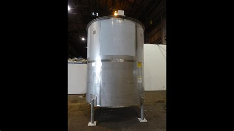bright sheet metal tank approximately 4 000 gallon stock 45707032 youtube