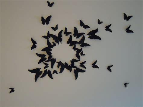 chambre papillon diy déco murale type gossip envolée de papillons