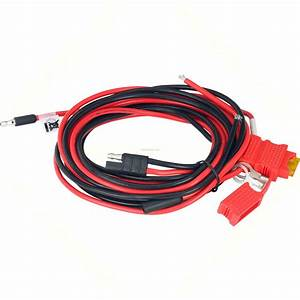 Motorola Hkn4191b Power Cable To Battery 10 U0026 39  20a