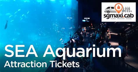 sea aquarium attraction tickets